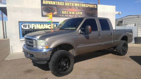 2004 Ford F-350 Super Duty for sale at Advantage Auto Motorsports in Phoenix AZ