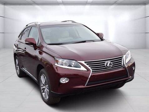 2015 Lexus RX 350 for sale at BOB ROHRMAN FORT WAYNE TOYOTA in Fort Wayne IN