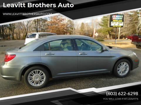 2007 Chrysler Sebring for sale at Leavitt Brothers Auto in Hooksett NH
