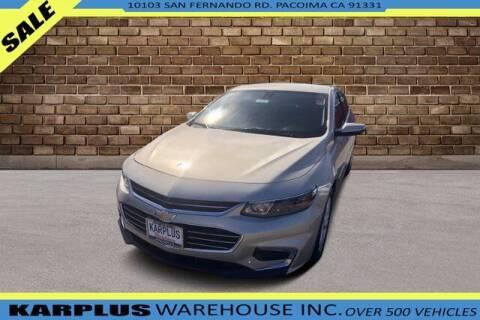 2016 Chevrolet Malibu for sale at Karplus Warehouse in Pacoima CA