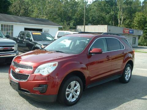 2012 Chevrolet Equinox for sale at Northgate Auto Sales in Myrtle Beach SC