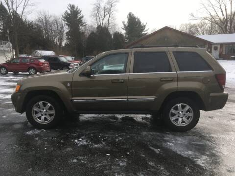 2009 Jeep Grand Cherokee for sale at Lou Rivers Used Cars in Palmer MA