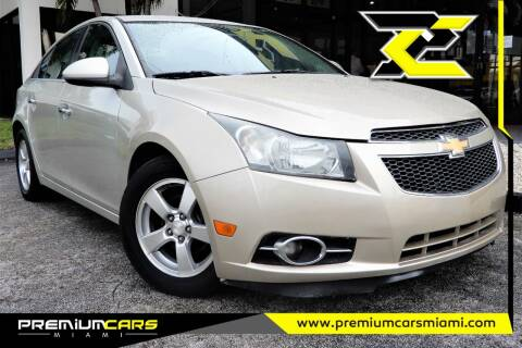 2014 Chevrolet Cruze for sale at Premium Cars of Miami in Miami FL