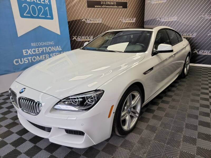 2014 BMW 6 Series for sale at X Drive Auto Sales Inc. in Dearborn Heights MI