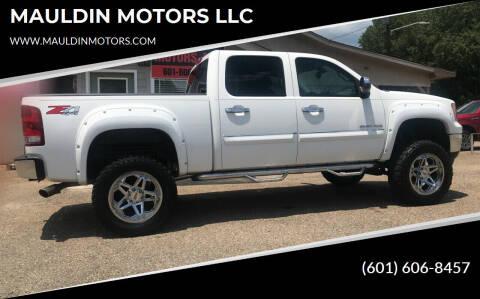 2013 GMC Sierra 1500 for sale at MAULDIN MOTORS LLC in Sumrall MS