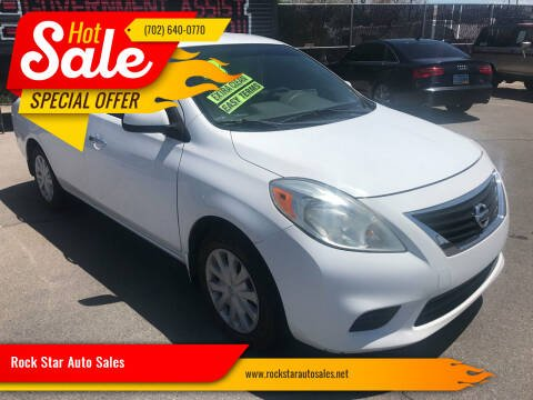 2013 Nissan Versa for sale at Rock Star Auto Sales in Las Vegas NV