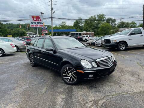 2008 Mercedes-Benz E-Class for sale at KB Auto Mall LLC in Akron OH