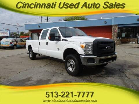 2013 Ford F-250 Super Duty for sale at Cincinnati Used Auto Sales in Cincinnati OH