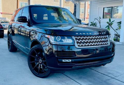 2014 Land Rover Range Rover for sale at Pro Motorcars in Anaheim CA