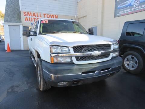 2003 Chevrolet Silverado 2500HD for sale at Small Town Auto Sales in Hazleton PA