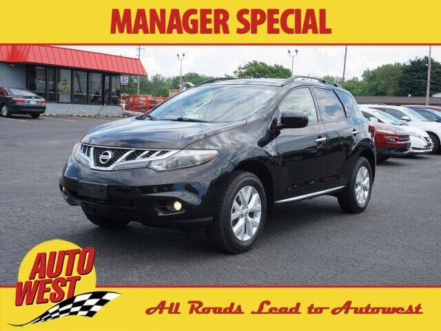 2013 Nissan Murano for sale at Autowest of GR in Grand Rapids MI