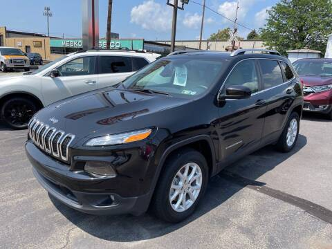 2017 Jeep Cherokee for sale at Red Top Auto Sales in Scranton PA