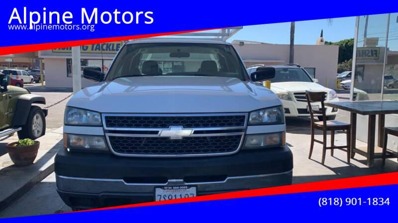 2005 Chevrolet Silverado 2500HD for sale at Alpine Motors in Van Nuys CA