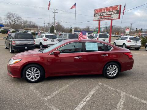 2016 Nissan Altima for sale at Christy Motors in Crystal MN