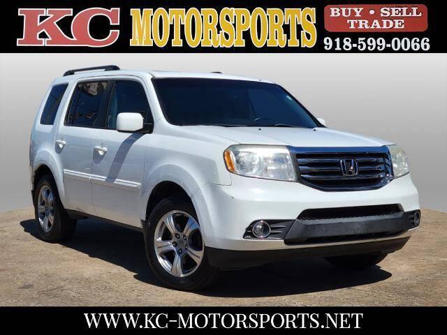 2013 Honda Pilot for sale at KC MOTORSPORTS in Tulsa OK