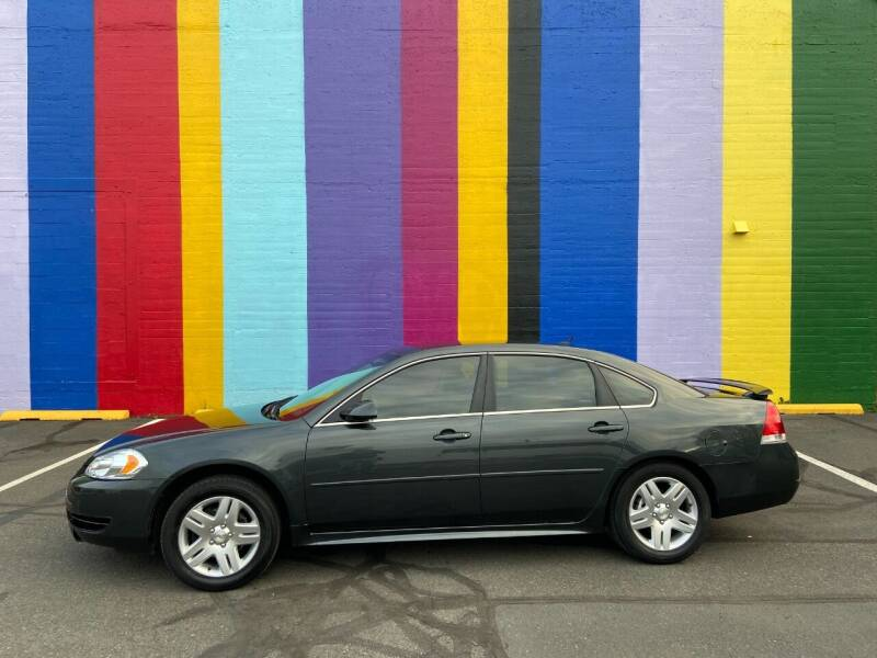 2013 Chevrolet Impala for sale at JOSE MESA AUTO WHOLESALE , LLC in Portland OR