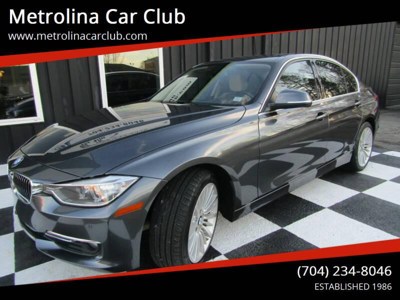 2015 BMW 3 Series for sale at Metrolina Car Club in Matthews NC