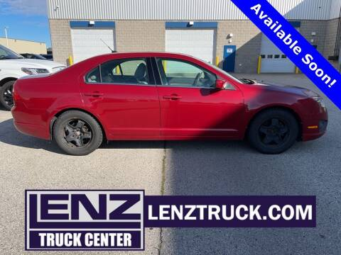 2010 Ford Fusion for sale at LENZ TRUCK CENTER in Fond Du Lac WI