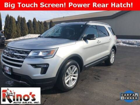 2018 Ford Explorer for sale at Rino's Auto Sales in Celina OH