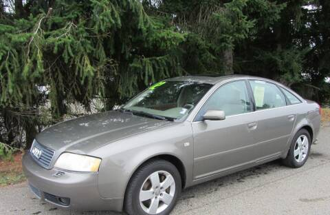 2002 Audi A6 for sale at B & C Northwest Auto Sales in Olympia WA
