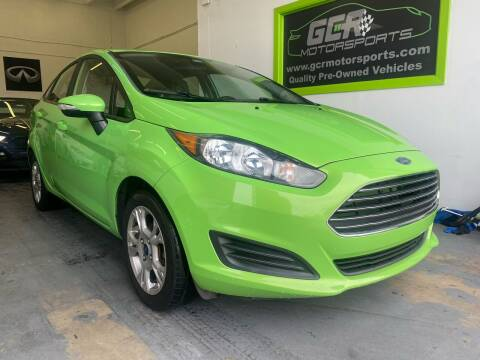 2015 Ford Fiesta for sale at GCR MOTORSPORTS in Hollywood FL
