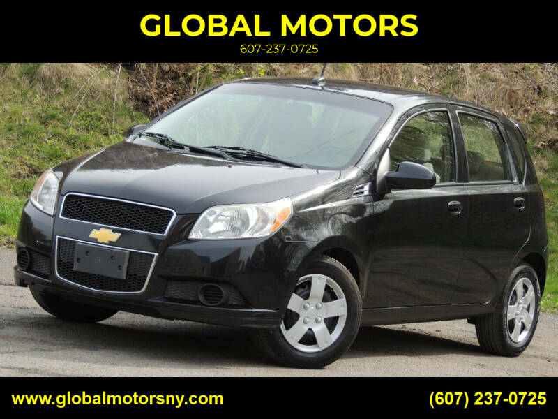 2011 Chevrolet Aveo for sale at GLOBAL MOTORS in Binghamton NY