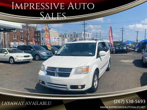 2010 Dodge Grand Caravan for sale at Impressive Auto Sales in Philadelphia PA