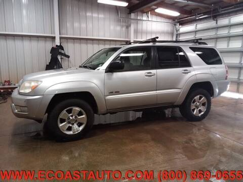 2003 Toyota 4Runner for sale at East Coast Auto Source Inc. in Bedford VA