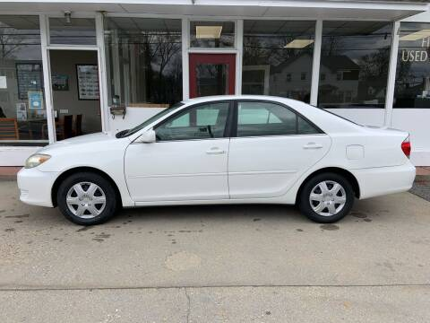 2005 Toyota Camry for sale at O'Connell Motors in Framingham MA