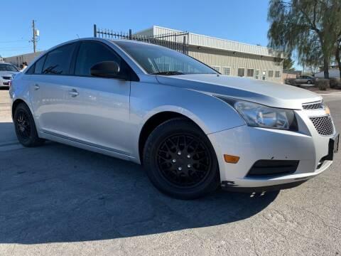 2013 Chevrolet Cruze for sale at Boktor Motors in Las Vegas NV