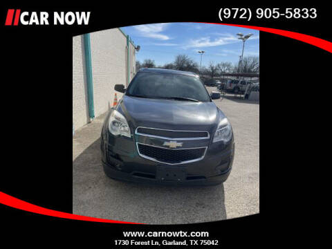 2014 Chevrolet Equinox for sale at Car Now Dallas in Dallas TX