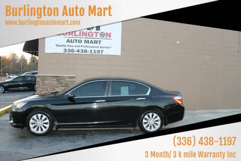 2014 Honda Accord for sale at Burlington Auto Mart in Burlington NC