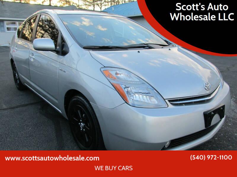2007 Toyota Prius for sale at Scott's Auto Wholesale LLC in Locust Grove VA