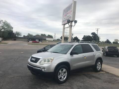 2008 GMC Acadia for sale at Patriot Auto Sales in Lawton OK