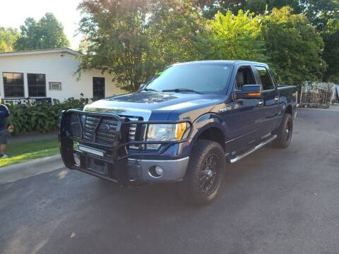 2010 Ford F-150 for sale at TR MOTORS in Gastonia NC