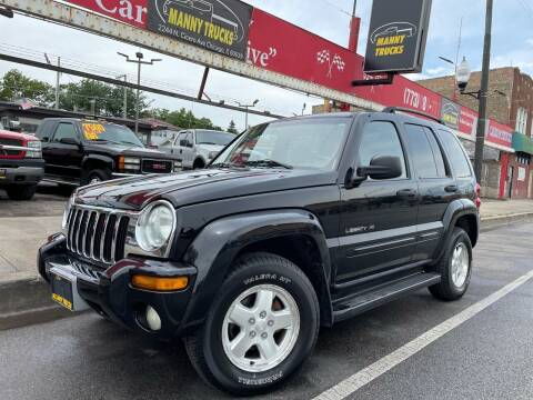 2002 Jeep Liberty for sale at Manny Trucks in Chicago IL