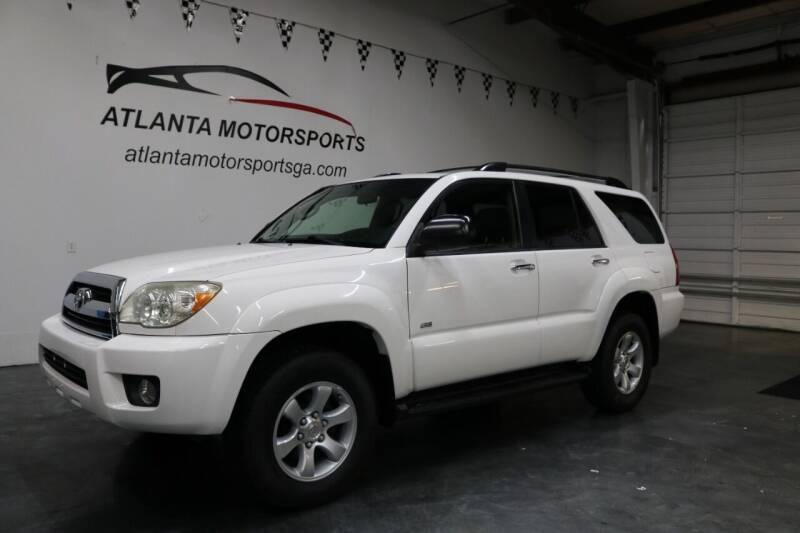2008 Toyota 4Runner for sale at Atlanta Motorsports in Roswell GA