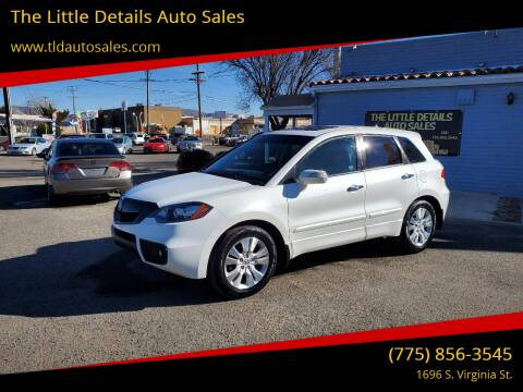 2011 Acura RDX for sale at The Little Details Auto Sales in Reno NV