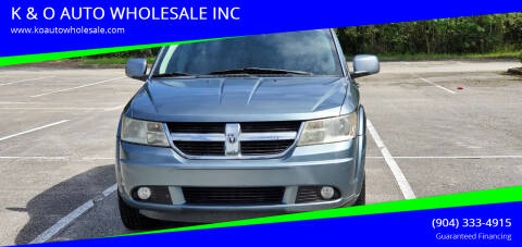 2010 Dodge Journey for sale at K & O AUTO WHOLESALE INC in Jacksonville FL