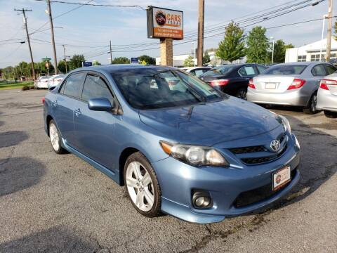 2013 Toyota Corolla for sale at Cars 4 Grab in Winchester VA