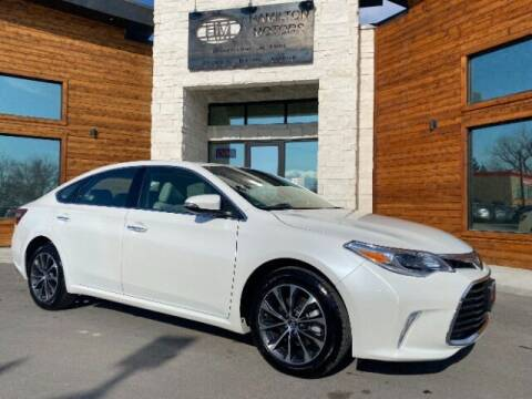 2017 Toyota Avalon for sale at Hamilton Motors in Lehi UT