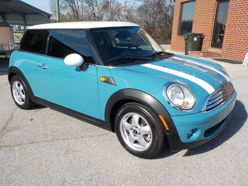 2010 MINI Cooper for sale at C & C MOTORS in Chattanooga TN