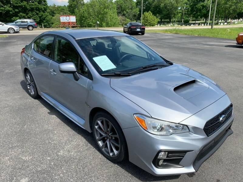 2018 Subaru WRX for sale at Hillside Motors in Jamestown KY