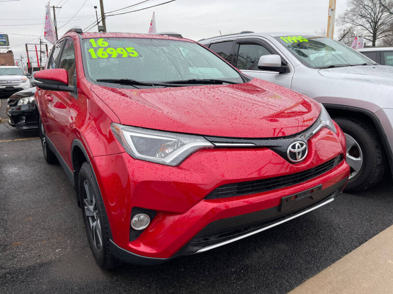 2016 Toyota RAV4 for sale at GRAND USED CARS  INC in Little Ferry NJ