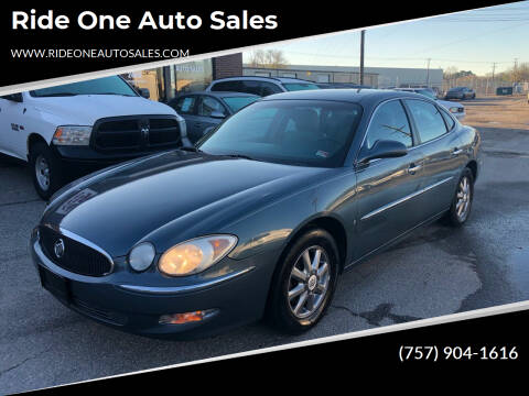 2007 Buick LaCrosse for sale at Ride One Auto Sales in Norfolk VA