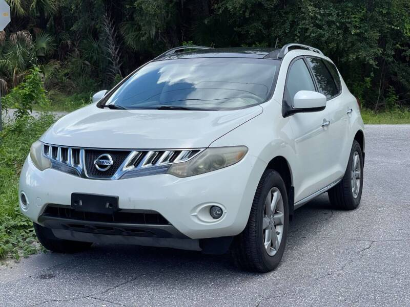 2009 Nissan Murano for sale at GENESIS AUTO SALES in Port Charlotte FL