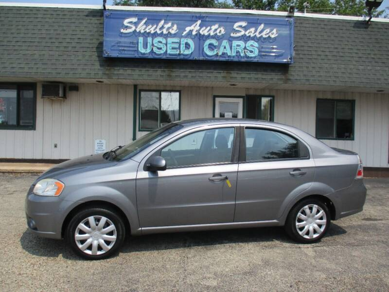 2011 Chevrolet Aveo for sale at SHULTS AUTO SALES INC. in Crystal Lake IL