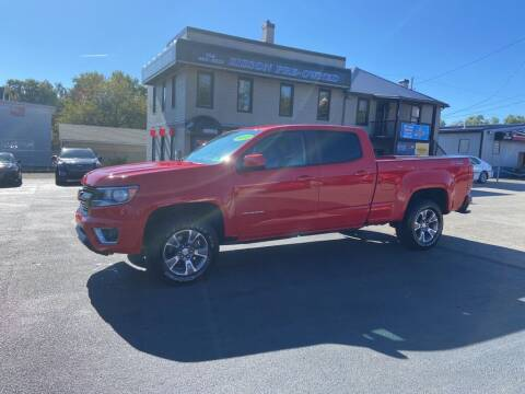 2017 Chevrolet Colorado for sale at Sisson Pre-Owned in Uniontown PA