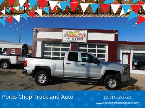 2015 Chevrolet Silverado 2500HD for sale at Pork Chops Truck and Auto in Cheyenne WY