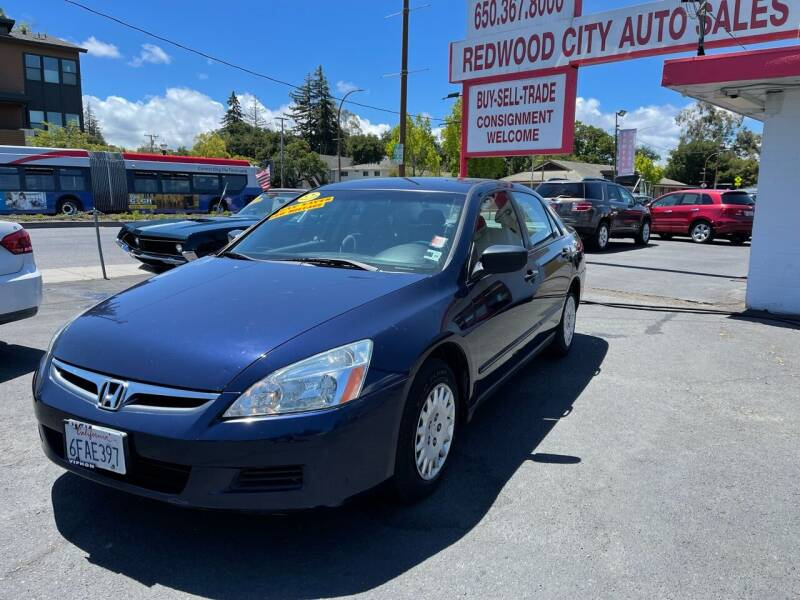 2007 Honda Accord for sale at Redwood City Auto Sales in Redwood City CA
